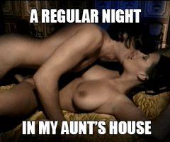 a regular night