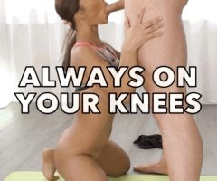 Always on my knees