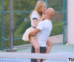 Aubrey Star and Christian Clay – Tennis Student Gets Anal Lesson (Tushy)