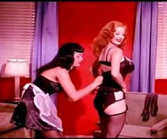 BETTIE PAGE THE MAID
