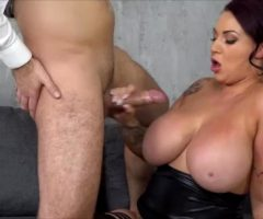 Big Boobs And A Big Finish