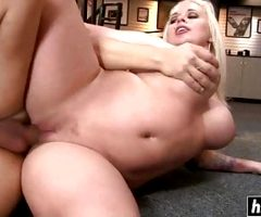 Blonde Hottie Wants To Try Anal