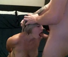 Cara May Moans And Gags Getting Throat Fucked While Handcuffed!