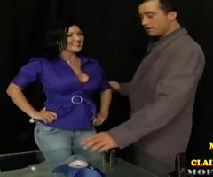 Claire Dames Facefucked And Bouncing