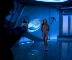 Dichen Lachman Full Frontal Tight Plot In 'Altered Carbon'