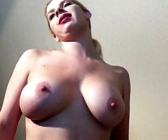 Dirty Talking Big Tit L Kinzy in Solo Sex Marathon.