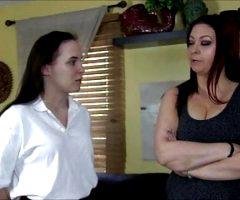 Dormroom spanking
