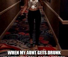 drunk aunts are fun