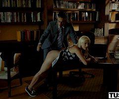 Eliza Jane Naughty Blonde Takes Anal Punishment