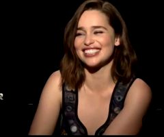 Emilia Clarke Laughing Fit