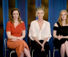 Emily Blunt, Charlize Theron & Jessica Chastain