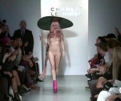 Full Frontal Plot On Fashion Runway