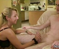 GERMAN BIG TITS MILF JENNY SEDUCE 18yr old YOUNG BOY TO FUCK