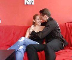 German Natural Teen At No Condom Porn Casting for Cash