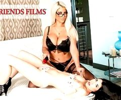 GirlfriendFilms – Lesbian Dom Cums With Her Young Client