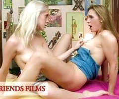 GirlfriendsFilms – Busty MILF Takes It Slow With Teen