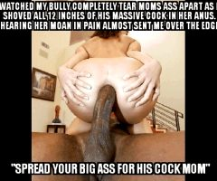 I love watching moms ass get fucked by a thick black cock