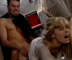 Innocent angel seduced and fucked by devil