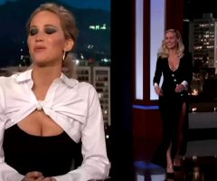 Jennifer Lawrence And Brie Larson Hosting Jimmy Kimmel