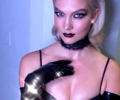 Karlie Kloss – Beauty + Glitter