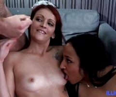 Lena and Lola, a wild orgy