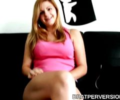 Lesbian POV Casting Couch Interview (Panty Fetish)