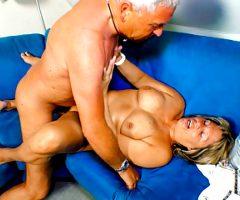 LETSDOEIT – He Easily Seduces Old Deutsche Grandma