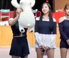 Mina Pretending To Be Plushies Ft. Dahyun