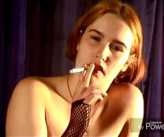 My wife smoking fetish solo and lesbian kissing