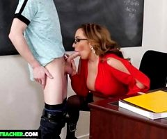 NaughtyAmerica – Richelle Ryan bangs student out after class