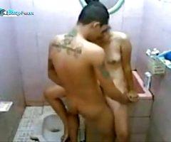 ngentot di toilet