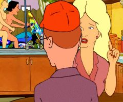 Nude cartoon king of the hill