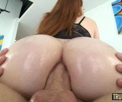 PAWG Redhead Teen Arietta Adams Gets Her Big Ass Fucked