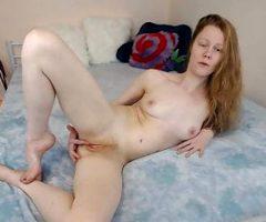 Redhead Faith Hatch – Tell you about my first orgasm