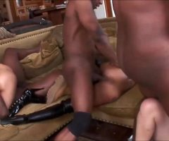 Sex Tape With 4 Hot Pornstar Fucked By Monster BBC.