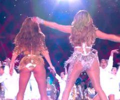 Shakira & Jennifer Lopez Shaking Their Asses
