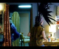 Slow Motion Alison Brie Topless Scene – Glow S03E03