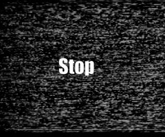 Stop the static