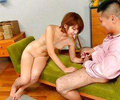 Stunning Seira Matsuoka swallows after – More at Slurpjp.com