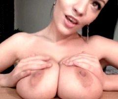 Sucking On Her Own Boob