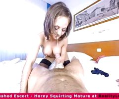 The VR escort squirter