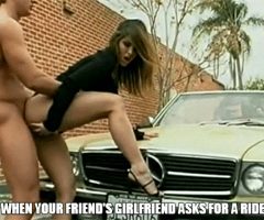 then you ride her