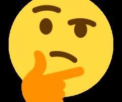 thinking emogi ass ecchi funny meme