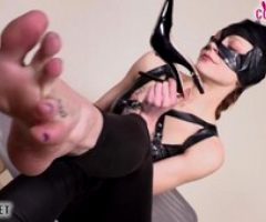 Time to Worship Cat Woman Feet!