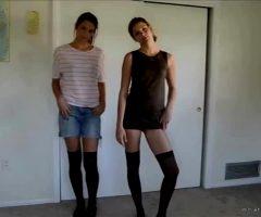 Twin Striptease