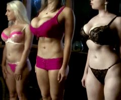 Weekly Lingerie Inspection From Left To Right