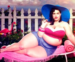 What if celebrities where fat?