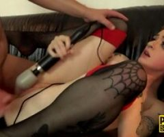 Whipped Tattooed Teen Redhead Submissive