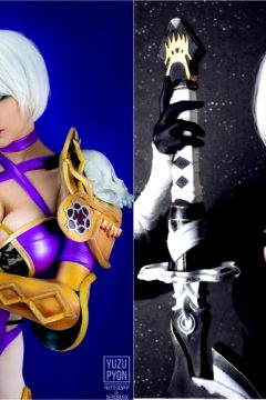 2B Got Announced In SoulCalibur 6 ! Funny Coincidence That I Crafted Both Cosplays In The Past. Which One Do You Prefer ? :) ~ YuzuPyon As Ivy Valentine And 2B