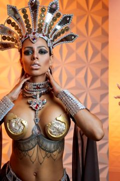 Akasha, Queen Of The Damned Cosplay By Canela Skin